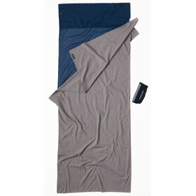 Cocoon TravelSheet cotton, tuareg/elephant grey
